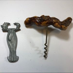 Unique Alaskan Moose Bottle Opener & Corkscrew